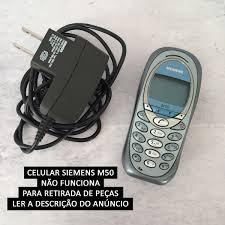 Celular Siemens M50 - Raridade Antigo ...