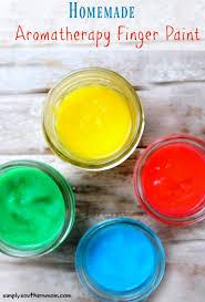 how to make homemade finger paint