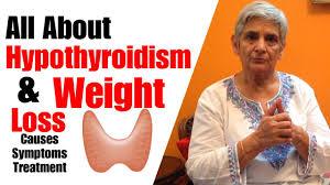 hypothyroidism weight loss symptoms