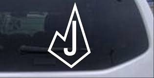 Judson Rockets Diamond J Car Or Truck Window Decal Sticker Rad Dezigns
