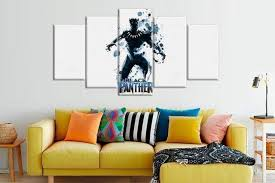 Order This Abstract Black Panther Marvel Superhero Marvel Full Hd Personalized Customized Canvas Art Wall Art Wall Decor Now