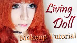 living doll boneca humana makeup