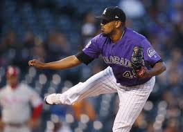 German Márquez ties MLB strikeout record in critical Rockies win