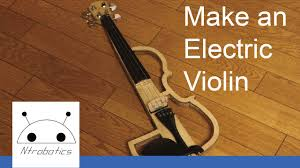 diy project making an electric violin