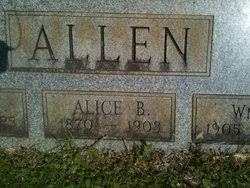Alice Adele Baker Allen (1870-1908) - Find A Grave Memorial