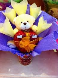 choc gift bouquet famous amos s photo