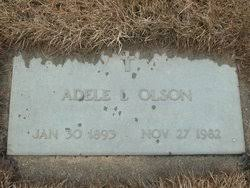 Adele Louise Haugen Olson (1893-1982) - Find A Grave Memorial