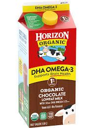 horizon organic dha chocolate 1 milk