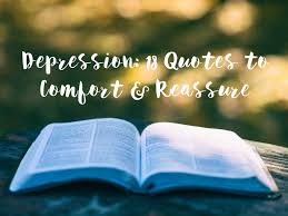 depression quotes to comfort and reassure the blurt foundation