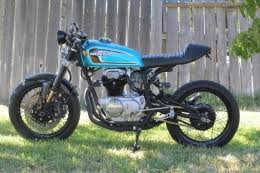 honda cb360 cafe racer motorcycle build