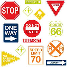 Amazon Com Walls 360 Peel Stick Traffic And Street Sign Wall Decals Stop Sign 24 In X 24 In Walls 360 Signs Arts Crafts Sewing
