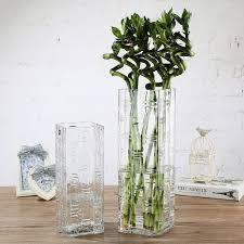 dibyna extra large vase thickened glass