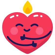 Icono Corazón, un abrazo, caliente, emoji, emo Gratis de Mr.Valentine