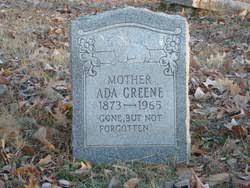 Ada Greene (1873-1965) - Find A Grave Memorial