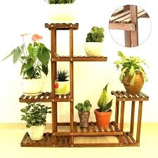 outdoor garden shelves
