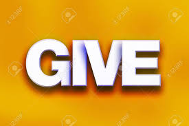 Image result for give word