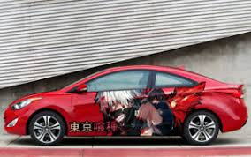 Tokyo Ghoul Anime Car Side Wrap Color Vinyl Sticker Decal Fit Any Car Ebay