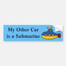 Navy Submarine Bumper Stickers Decals Car Magnets Zazzle