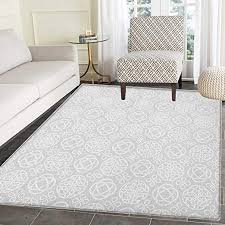 Amazon Com Celtic Rugs For Bedroom Tribal Celtic Knots Eternity Forms Pattern Boho Ireland Irish Cross Floral Artprint Circle Rugs For Living Room 3 X5 Grey White Kitchen Dining
