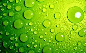 green wallpapers hd drop of water