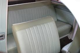original style 1965 beetle interior and