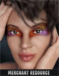 stardust glitter fantasy makeup