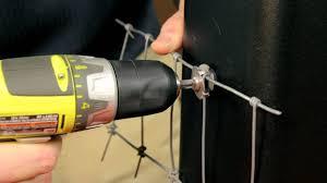 Wire Mesh Clip Hot Wire Clip Installation Youtube