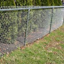 4 Foot Tall Galvanized Chain Link