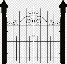 Open Gate Portable Network Graphics Gate Transparent Background Png Clipart Hiclipart