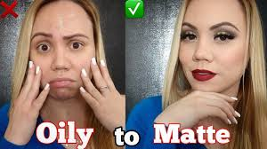 makeup tutorial for oily skin 2019