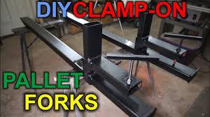 diy cl on pallet forks for loader