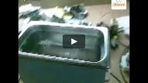 diy homemade ultrasonic cleaner on vimeo