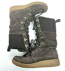 the north face leather winter boots