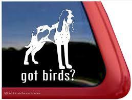Got Birds Bracco Italiano Dog Decals Stickers Nickerstickers