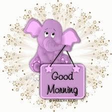 Good Morning Elephant GIF - GoodMorning Elephant Blink - Discover ...
