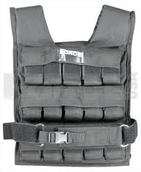 weight vest for an increased