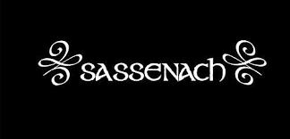 Amazon Com Cliffbennett Sassenach Car Decal Outlander Decal Sassenach Vinyl Decal For Sign Sassenach Laptop Decal Sassenach Vehicle Decal Scottish Decal Home Kitchen