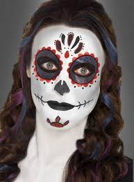 sugar skull makeup bei kostümpalast de