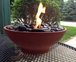 diy tabletop fire bowls the garden glove