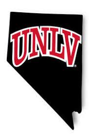 Unlv Rebels Vinyl Decal Ncaa State Shaped Sticker Ebay