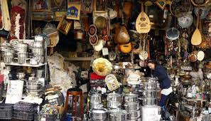flea and food markets in athens