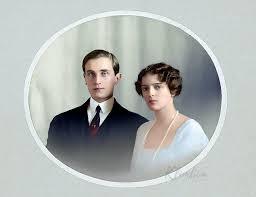Colorization — Felix Yusupov and Princess Irina of Russia |...