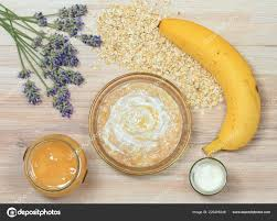 face mask oatmeal yogurt banana honey