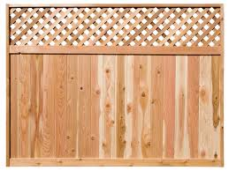 Diagonal Lattice Top Fence Panels Woodway Products