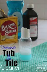 homemade tub tile cleaner