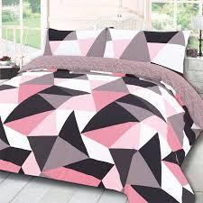 dreamscene shapes geometric duvet set