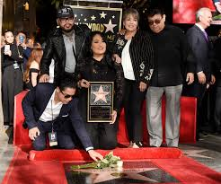 selena honored with star on hollywood