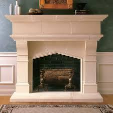 lexington cast stone fireplace mantels