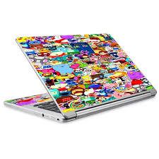 Skins Decals For Acer Chromebook R13 Laptop Vinyl Wrap Sticker Collage Sticker Pack Itsaskin Com