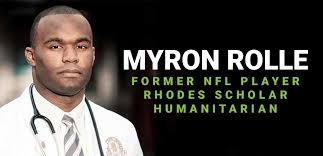 Myron Rolle Using Lessons Learned from the NFL to Help Fight COVID-19 | APB  Speakers